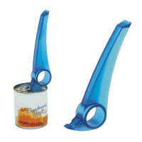 Blue MagiPull on its own and another placed on the top of a can