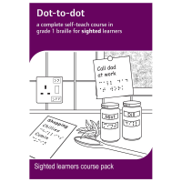 Dot-to-dot sighted learners course pack