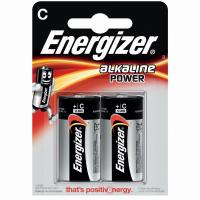 Two LR14/C batteries in packaging