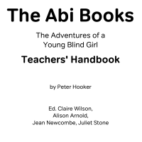 Front cover of teachers' manual for the Abi Books braille reading scheme.