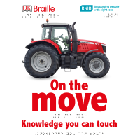 Front cover of On the Move featuring a red tractor
