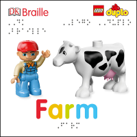 DK Braille Book Lego Duplo Farm front cover