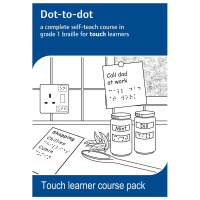 Dot-to-dot touch learners pack front cover