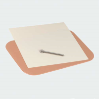 Geometry mat with sheet and embossing tool