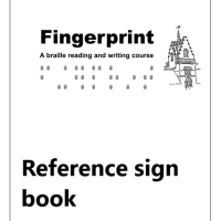 Front cover for fingerprint reference book vol 10 UEB (MTO)