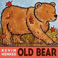 Front cover showing illustrated bear