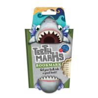 Shark bookmark uin packaging against a white backgrounf