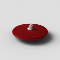 Red disk tip for canes