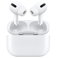 Apple AirPods Pro inside charging case.