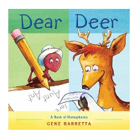 Front cover showing an illustrated deer