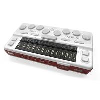 Top view of the BrailleSense U2 mini portable notetaker