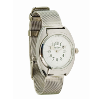 Watch face and mesh strap