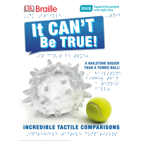 Front cover of It Can't Be True showing a tennis ball and enormous hailstone