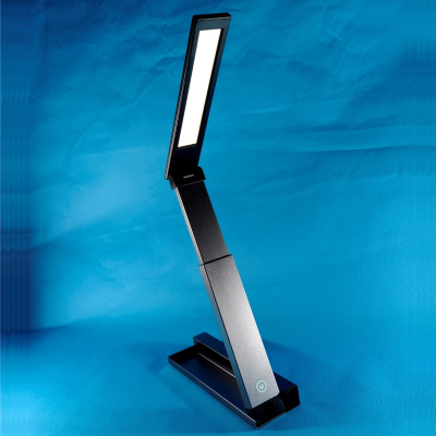 ZigZag portable folding light against a white background