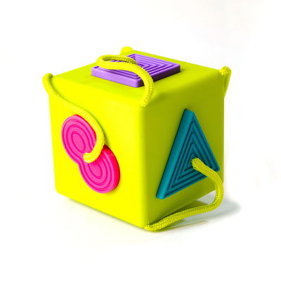 Boxed Oombee Cube shape sorter