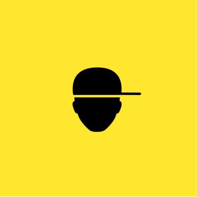 A yellow cover depicting a silouhette head wearing a baseball cap