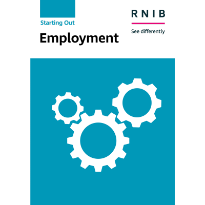 Employment booklet front cover