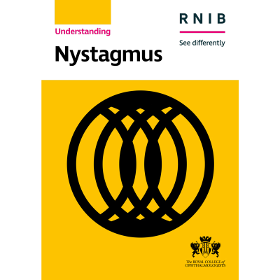Nystagmus booklet front cover