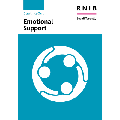 Emotional support booklet front cover
