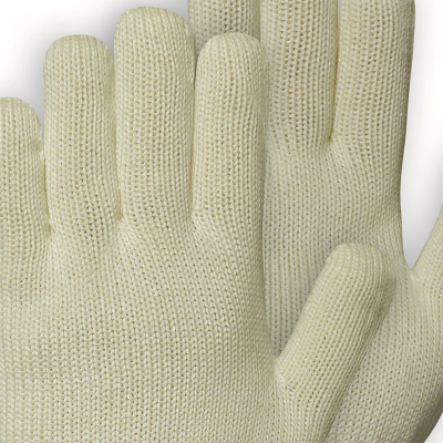 Close-up of a pair of mid length gloves