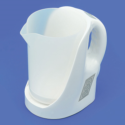 Standalone talking measuring jug in white