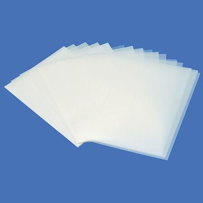 Sheets of plastic film