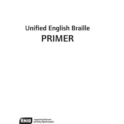 UEB Primer - print front cover