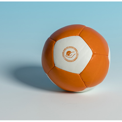 Orange and white foam Petito sound ball