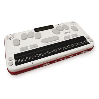 Image of Braille Sense U2 portable braille notetaker