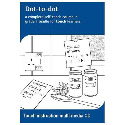 Dot-to-dot touch learner instructions