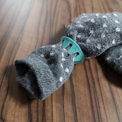SockSnaps on a pair of socks