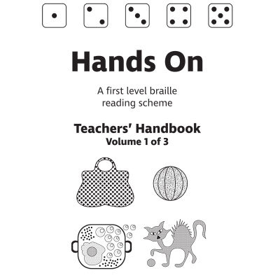 Hands On teachers' handbook front cover.