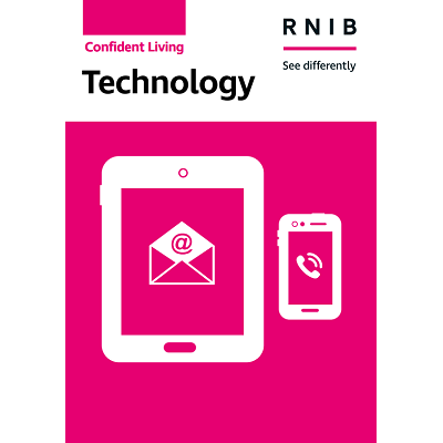 Technology booklet front cover
