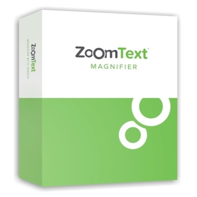Zoomtext Magnifier software packaging