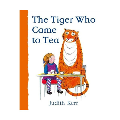 Front cover of The Tiger Who Came to Tea