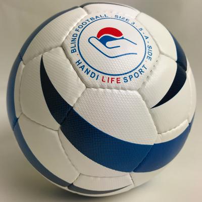 Blue Flame football with Handi Life Sports logo.
