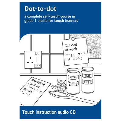 Dot-to-dot touch learners instruction audio CD