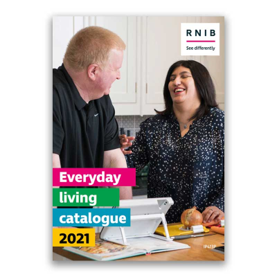 Front cover of the Everyday living solutions catalogue