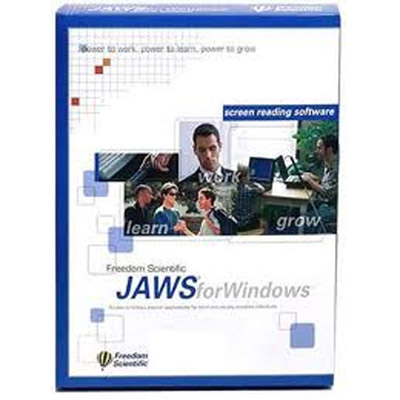 JAWS Pro software packaging.