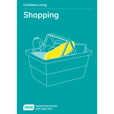 Shopping booklet front cover