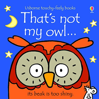 Front cover showing illustrated owl