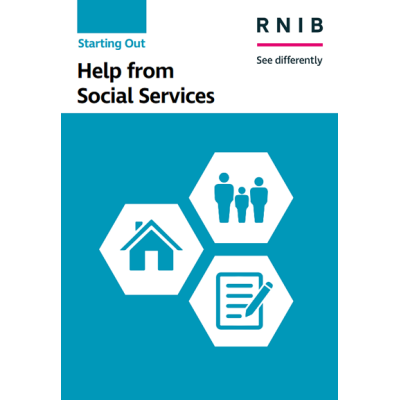Help from social services booklet front cover