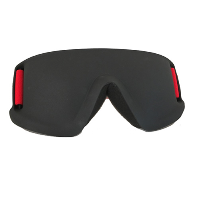 Justa blind sports mask in red