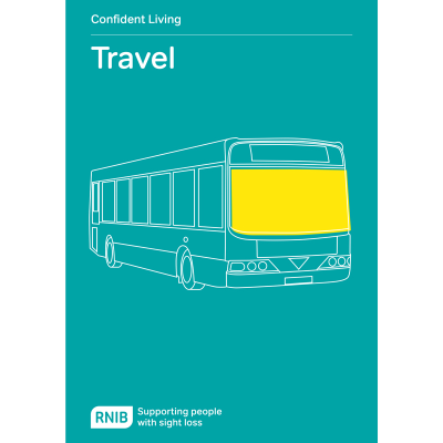 Travel booklet front cover