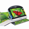Amigo HD Portable Video Magnifier showing an image of a butterfly from a magazine