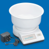 Kitchen scale, bowl and mains charger
