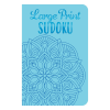 Front cover of Large Print Sudoku book