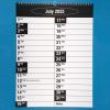 Page view of Big Print wall calendar