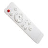 Angled vertical view of the remote control for the RNIB Lumina Plus floor lamp