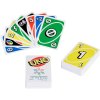 Packaging and cards for the UNO braille edition card game